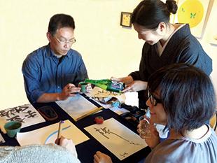 書道イベント開催中!のイメージ